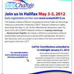May 3 – CCWESTT Conference