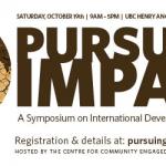 OCT 19: Pursuing Impact