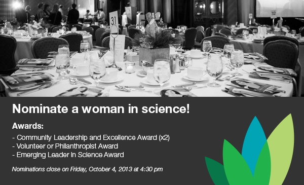 a look at women in science and engineering award Female scientists are under-represented in global research  technology,  engineering and mathematics (stem) for girls and young women around the  globe  we look forward to identifying outstanding individuals who are.