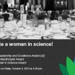 NOV 13: Early Bird Deadline for Minerva's Women In Science Luncheon